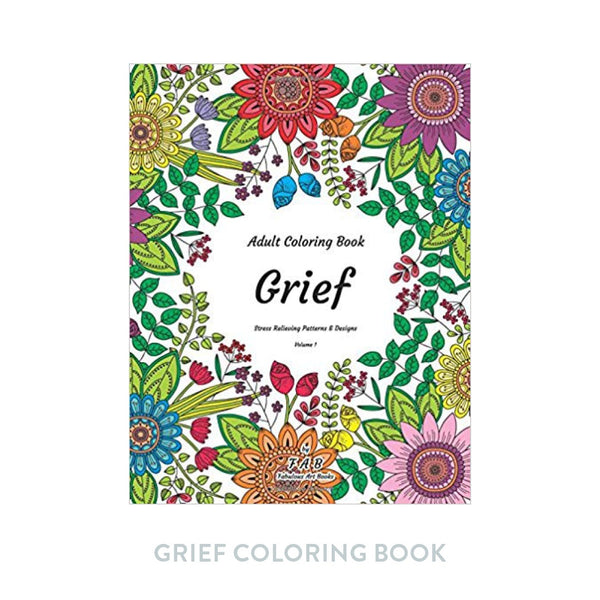 Grief Coloring Book