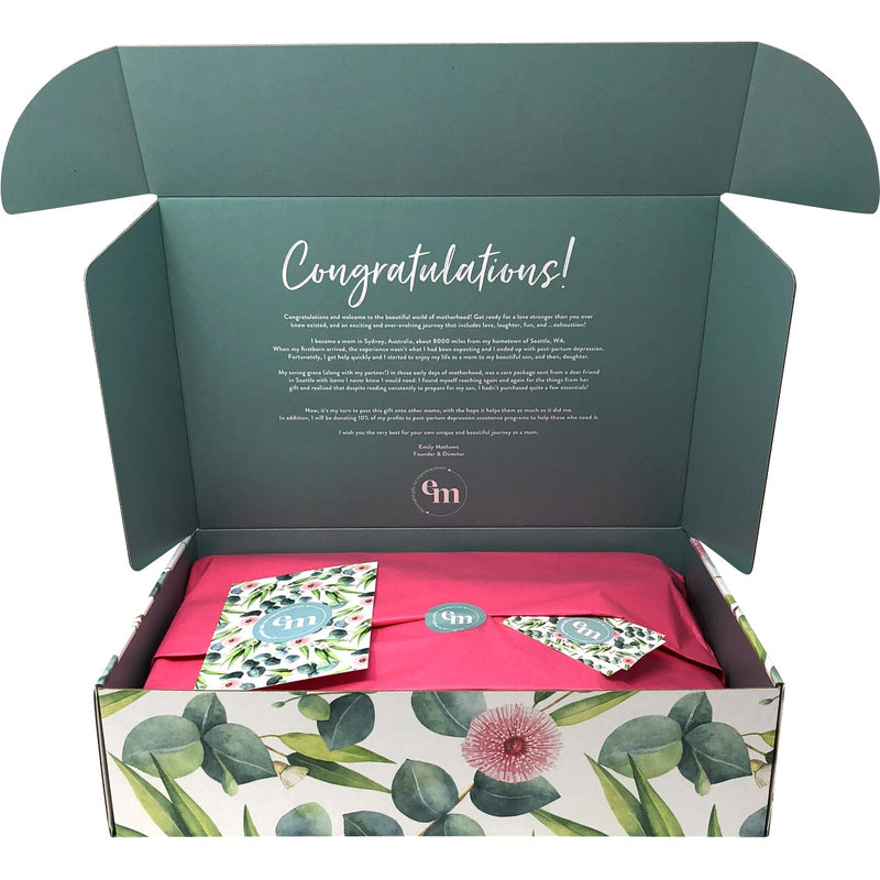 New / Expecting Moms Gift Box - Twins