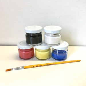 Underglaze kit - primary colours