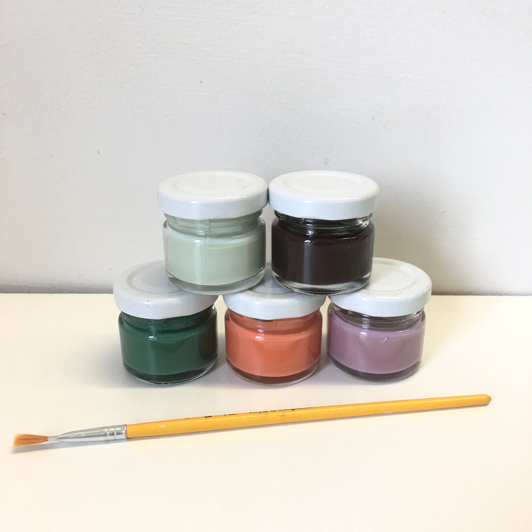Underglaze kit - secondary colours