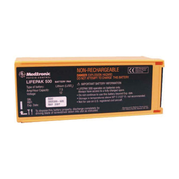 LIFEPAK 500 batteri