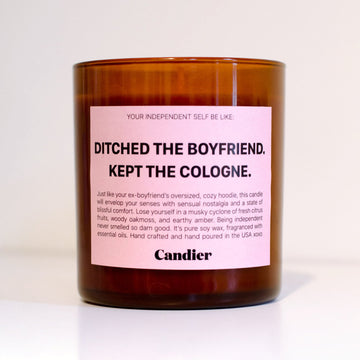 RYAN PORTER - DITCHED THE BOYFRIEND CANDLE
