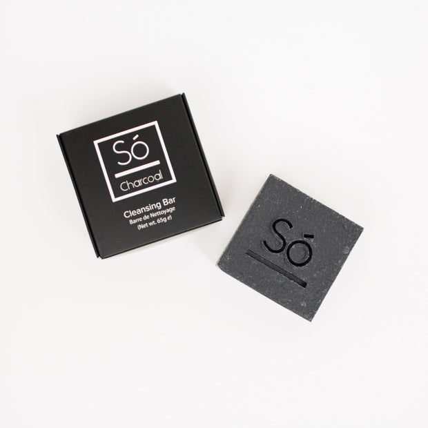 So Luxury Charcoal Cleansing Bar