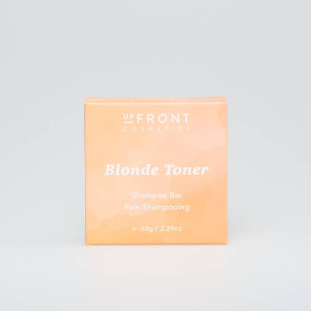Up Front Cosmetics- Blonde Toner Shampoo Bar
