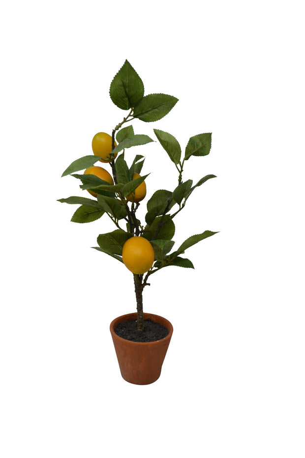 Table Top Faux Lemon Tree