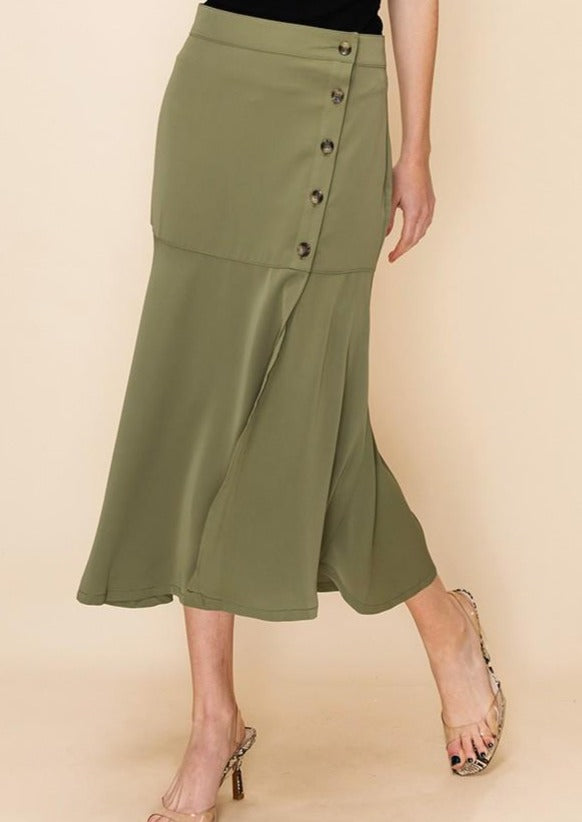 Sarah Slit Skirt (Multiple Colours)