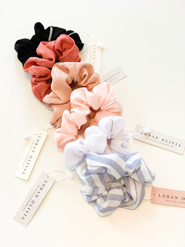 Loran Olivia Scrunchie Collection