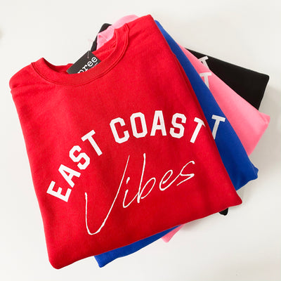 East Coast Vibes Crewneck