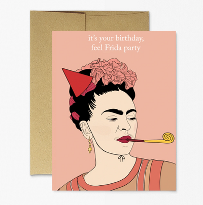 Frida- Birthday Party Card