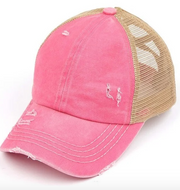 CC Pony Hat- Criss Cross