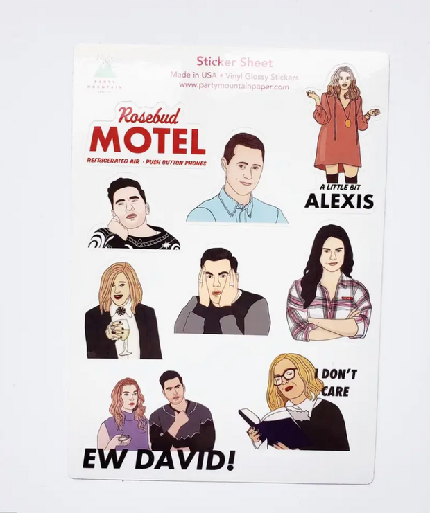 Shitt's Creek Sticker Pack