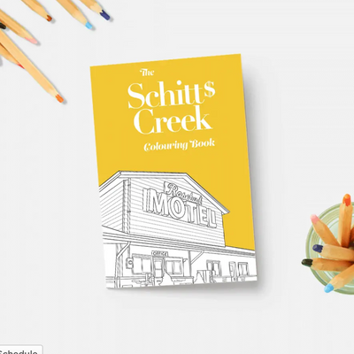 Shitt's Creek Colouring Book