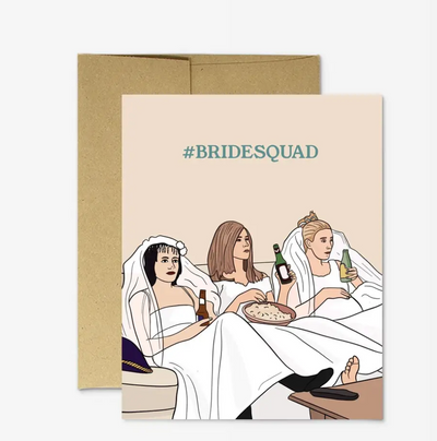 Friends #BRIDESQUAD