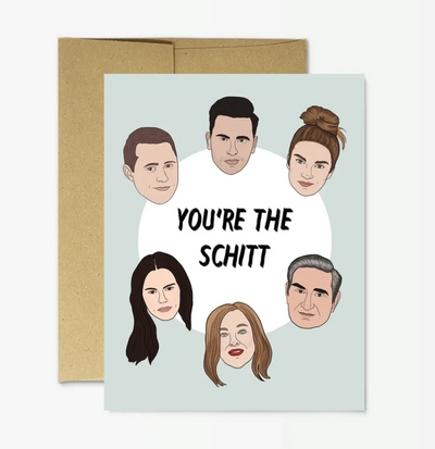 You're the Shitt Card