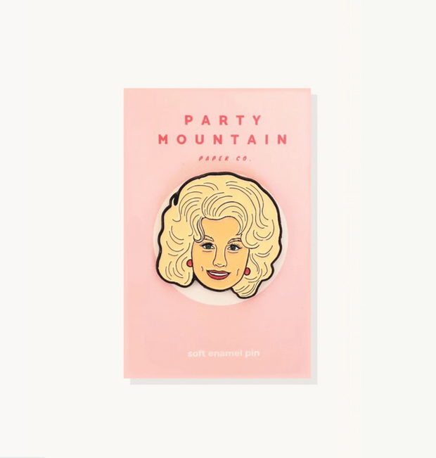 Dolly Enamel Pin