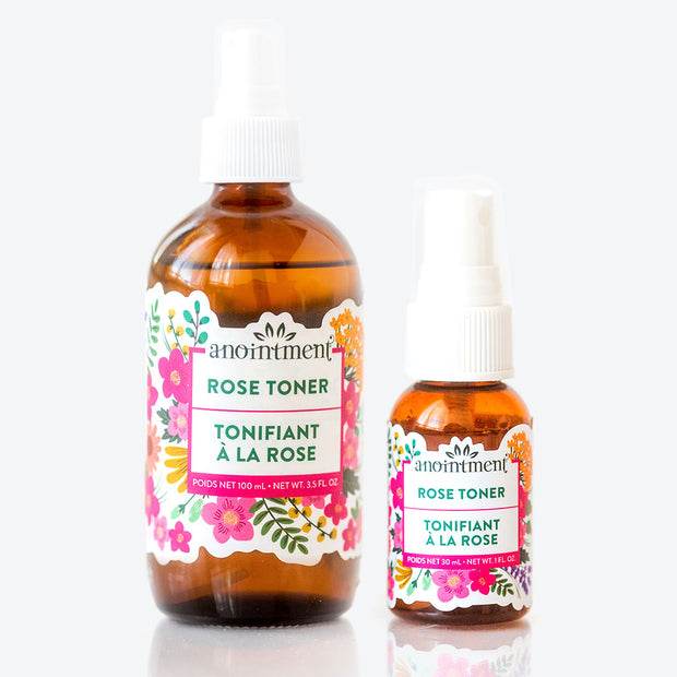 Anointment Natural Skin Care- Rose Toner