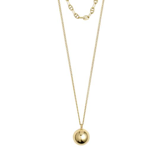 Pilgrim Gold 2 in 1 Necklace Set: Earth