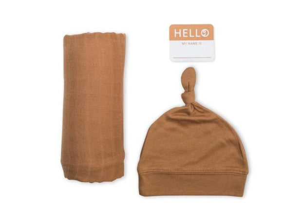 Lulujo Newborn Set- Tan
