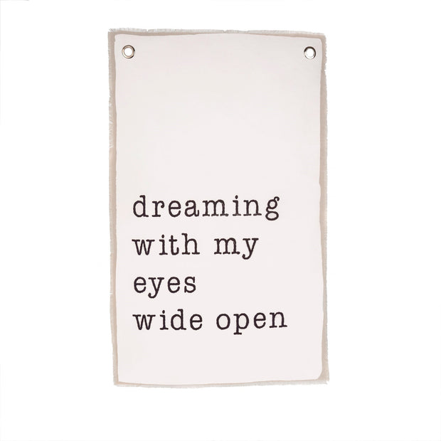 Dreaming Canvas Wall Hanging
