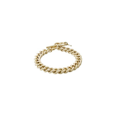 Pilgrim Gold Chain Bracelet: Water Element