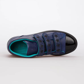 Katy – Leather Parliament Blue - BUB Leather Shoes