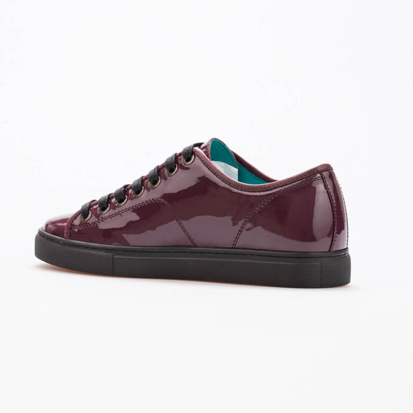 Maya – Patent Leather Bordeaux - BUB Leather Shoes