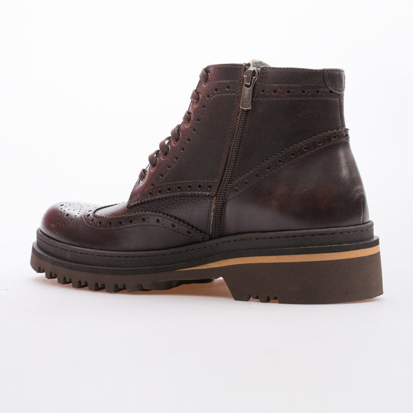 Leonard - Brown - Calf Leather - BUB Leather Shoes