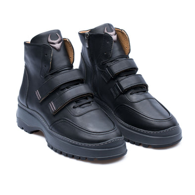 Grigor - Black - Calf Leather - BUB Leather Shoes
