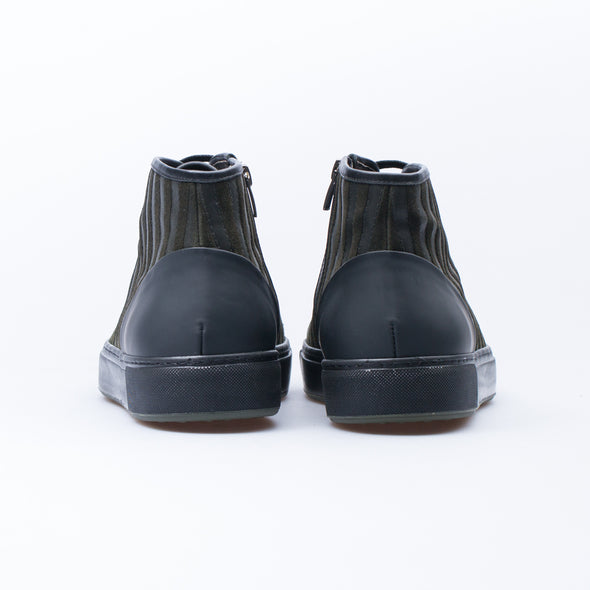 Frederic - Black & Khaki - Calf Leather - BUB Leather Shoes
