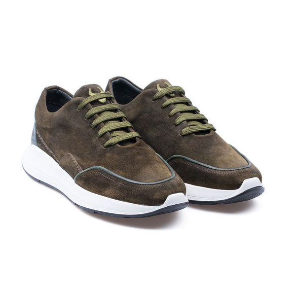Felix - Khaki - Waxy Suede - BUB Leather Shoes