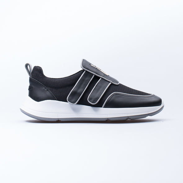 Barney - Black - Leather & Neoprene - BUB Leather Shoes
