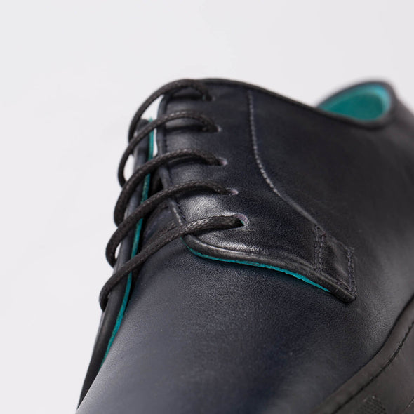 Thomas – Leather Dark Blue - BUB Leather Shoes
