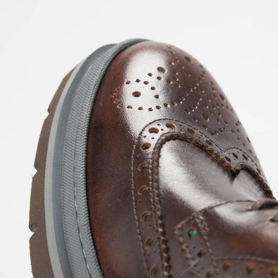 Earl – Leather Brown - BUB Leather Shoes