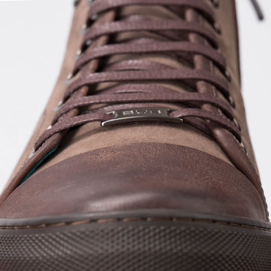 Mike – Nubuck & Leather Brown - BUB Leather Shoes