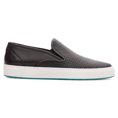 Alonso - Black - Calf Leather Slip On - BUB Leather Shoes