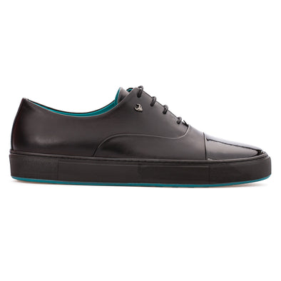 Brad - Black - Calf Leather Oxford - BUB Leather Shoes