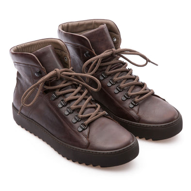 Gerald - Brown - Calf Vintage Leather - BUB Leather Shoes