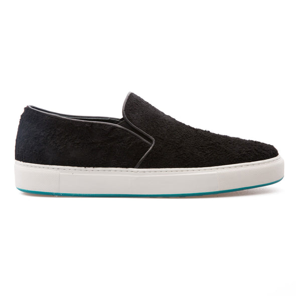 Cooper - Black - Hairy Suede - BUB Leather Shoes
