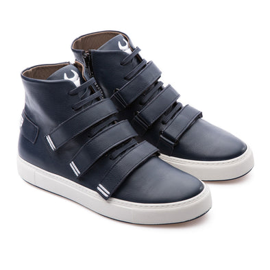 Haze - Dark Blue - Leather - BUB Leather Shoes