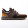 Ralph - Khaki & Brown - Neoprene & Leather - BUB Leather Shoes