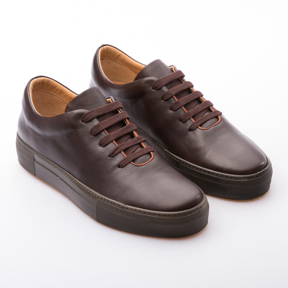 Ben - Brown - Calf Leather - BUB Leather Shoes