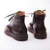 Fabian - Brown & Burgundy - Waxy Suede & Calf Leather - BUB Leather Shoes