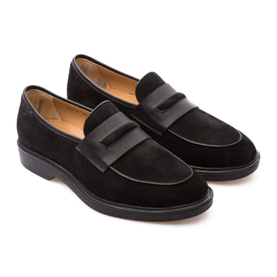 Roy - Black - Waxy Suede - BUB Leather Shoes