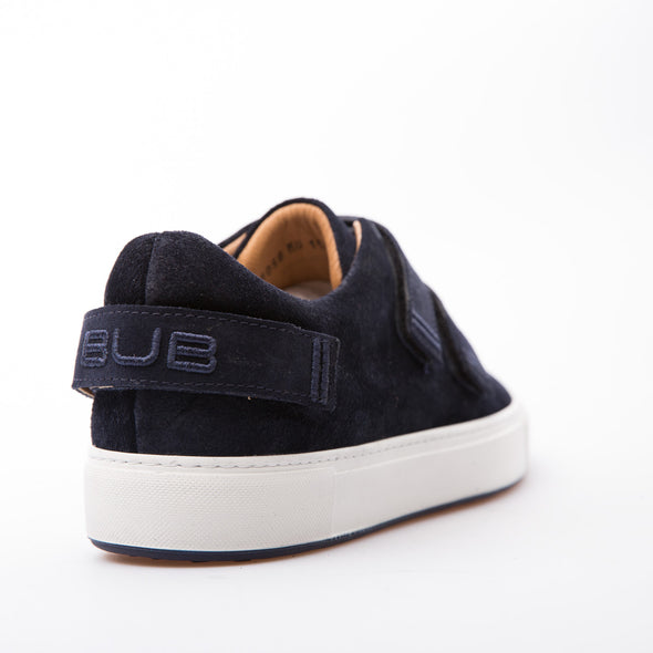 Cain - Dark Blue - Waxy Suede - BUB Leather Shoes