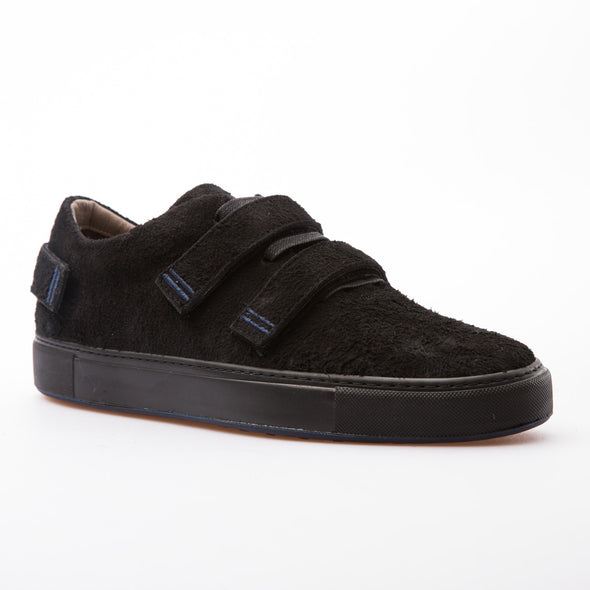 Cain - Black - Hairy Suede - BUB Leather Shoes