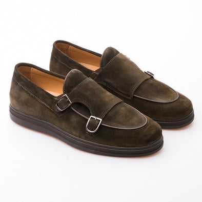 Raven - Khaki - Waxy Suede - BUB Leather Shoes