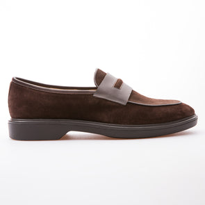 Roy - Brown - Waxy Suede - BUB Leather Shoes