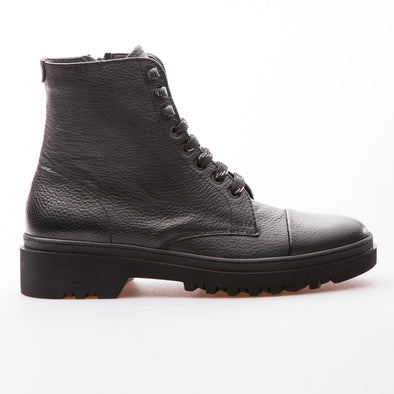 Ivan - Black - Calf Grain Leather - BUB Leather Shoes