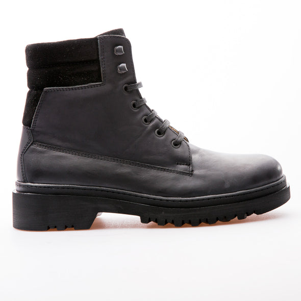 Jonathan - Black - Calf Grain Leather - BUB Leather Shoes