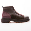 Murdock - Brown & Burgundy - Calf Vintage Leather - BUB Leather Shoes